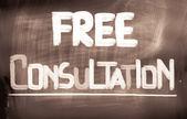 Free Consultation Concept — Foto Stock