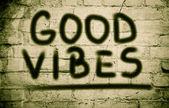 Good Vibes Concept — Stock Photo
