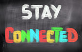 Stay Connected Concept — Stock Photo
