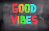Good Vibes Concept — Stock Photo