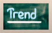 Trend Concept — Stock Photo