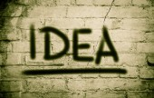 Idee, Konzept — Stockfoto