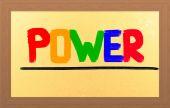 Conceito de poder — Foto Stock