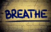Breathe Concept — Stock Photo