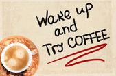 Kaffe konceptet — Stockfoto