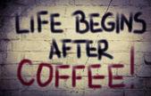 咖啡概念 — 图库照片