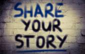 Share Your Story Concept — Photo