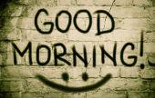 Good Morning Concept — Stock Photo