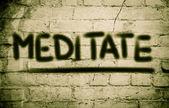 Meditate Concept — Stok fotoğraf