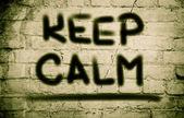Keep Calm Concept — Stock Photo