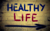 Healthy Life Concept — Stock Photo