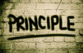 Principle Concept — Stock Photo