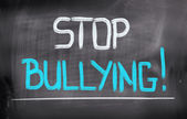 Stop Bullying Concept — Stock Photo