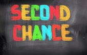Second Chance Concept — Stock Photo