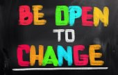 Be Open To Change Concept — Stock Photo