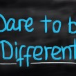 Dare To Be Different Concept — Stock Photo #56804871