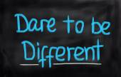 Dare To Be Different Concept — Stock Photo