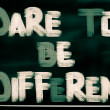 Dare To Be Different Concept — Stock Photo #57365237