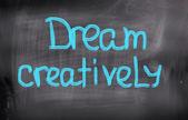 Dream Creatively Concept — Stock Photo