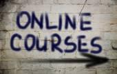 Online Courses Concept — Stock Photo