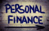 Personal Finance Concept — Stock Photo
