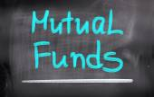 Mutual Funds Concept — Stock Photo