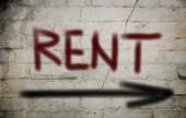 Rent Concept — Stock Photo