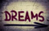Drömmar koncept — Stockfoto