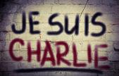 Je Suis Charlie Concept — Stock Photo