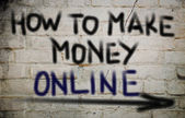 How To Make Money Online Concept — Foto Stock