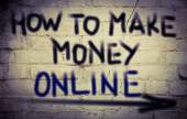 How To Make Money Online Concept — Stock Photo