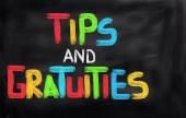Tips koncept — Stockfoto