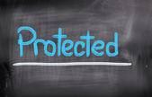 Protected Concept — Stock Photo