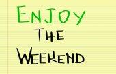 Expérimenter le concept de week-end — 图库照片