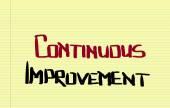 Continuous Improvement Concept — Stock Photo