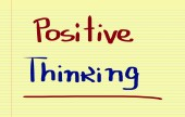 Positive Thinking Concept — Stock Photo
