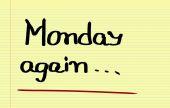 月曜日の概念 — ストック写真