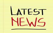 Latest News Concept — Stock Photo