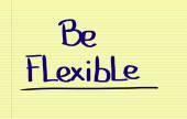 Be Flexible Concept — Stockfoto