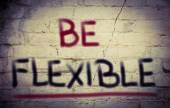 Be Flexible Concept — Stock Photo