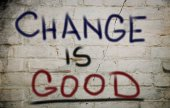Verandering is goed — Stockfoto