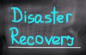Pojęcie odzyskiwania katastrofy — Zdjęcie stockowe