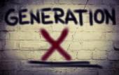Generation X Concept — Stock Photo