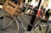 Klasik şehir bisikleti — Stok fotoğraf