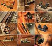 Door handles — Stock Photo