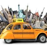 Retro taxi — Stock Photo #53600295