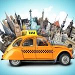 Retro taxi — Stock Photo #53600325