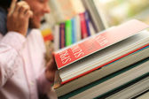 Read book — Stock Photo