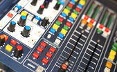 Music console — Stock Photo
