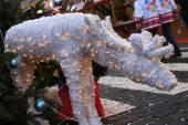Christmas deer — Stockfoto